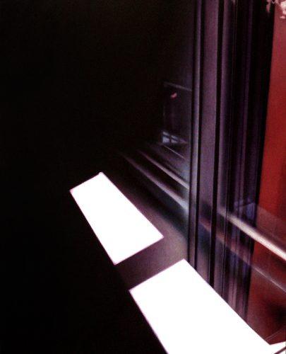 Raam atelier no.3. Acryl op katoen 100 bij 80cm 2011