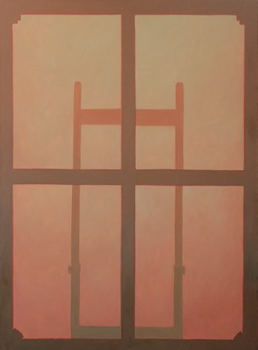 Canvas 3.  Olie op katoen.  160 bij 120 cm.  2021