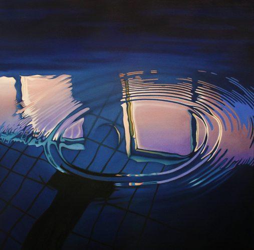 Bad 27. Olie op katoen 100 bij 100cm 2018